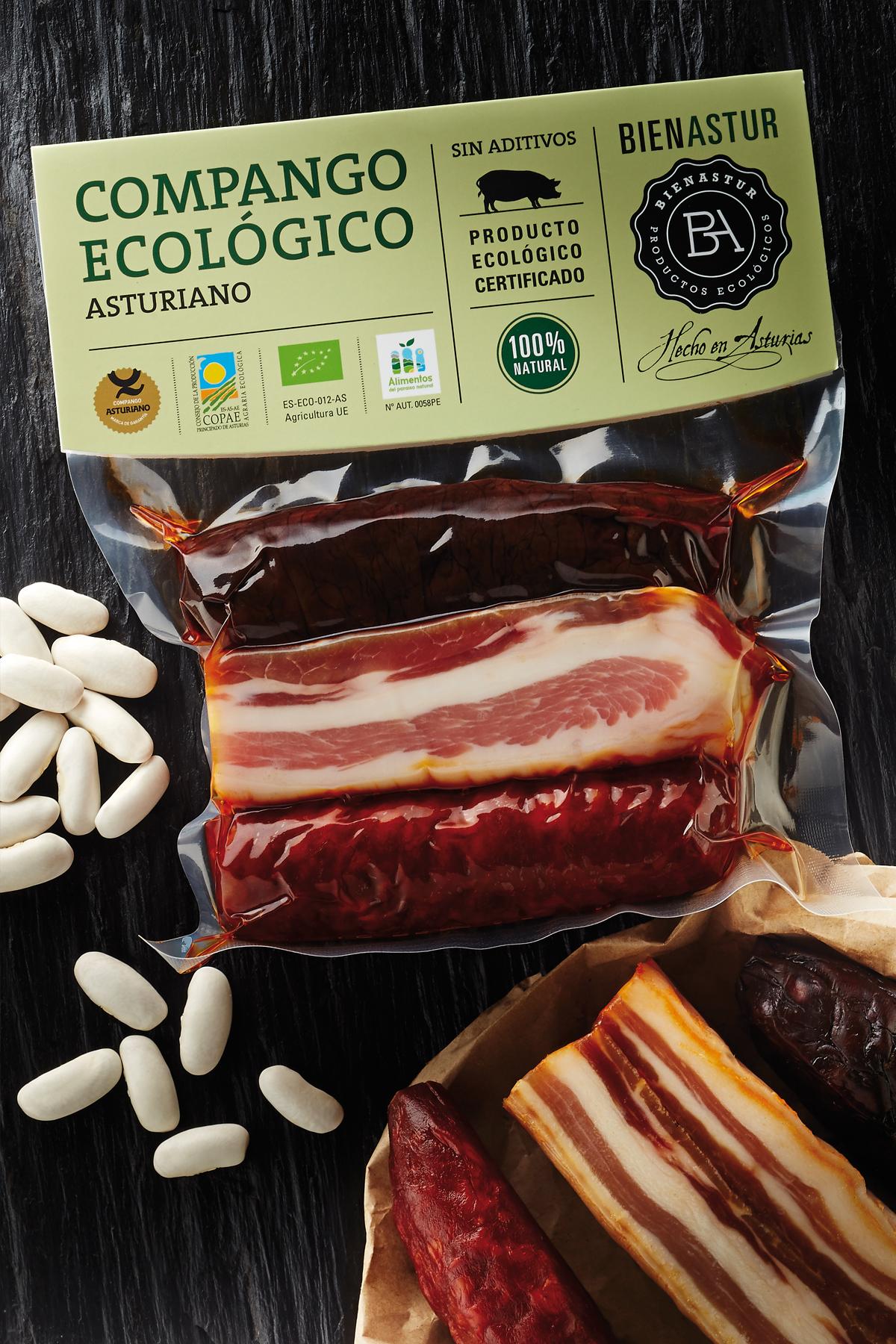 Smoked Asturian Ecological Compango 300 g