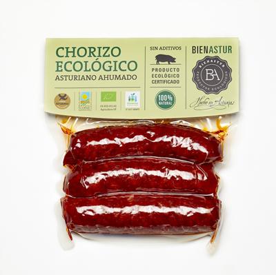 Chorizo Ecológico Bienastur 300g