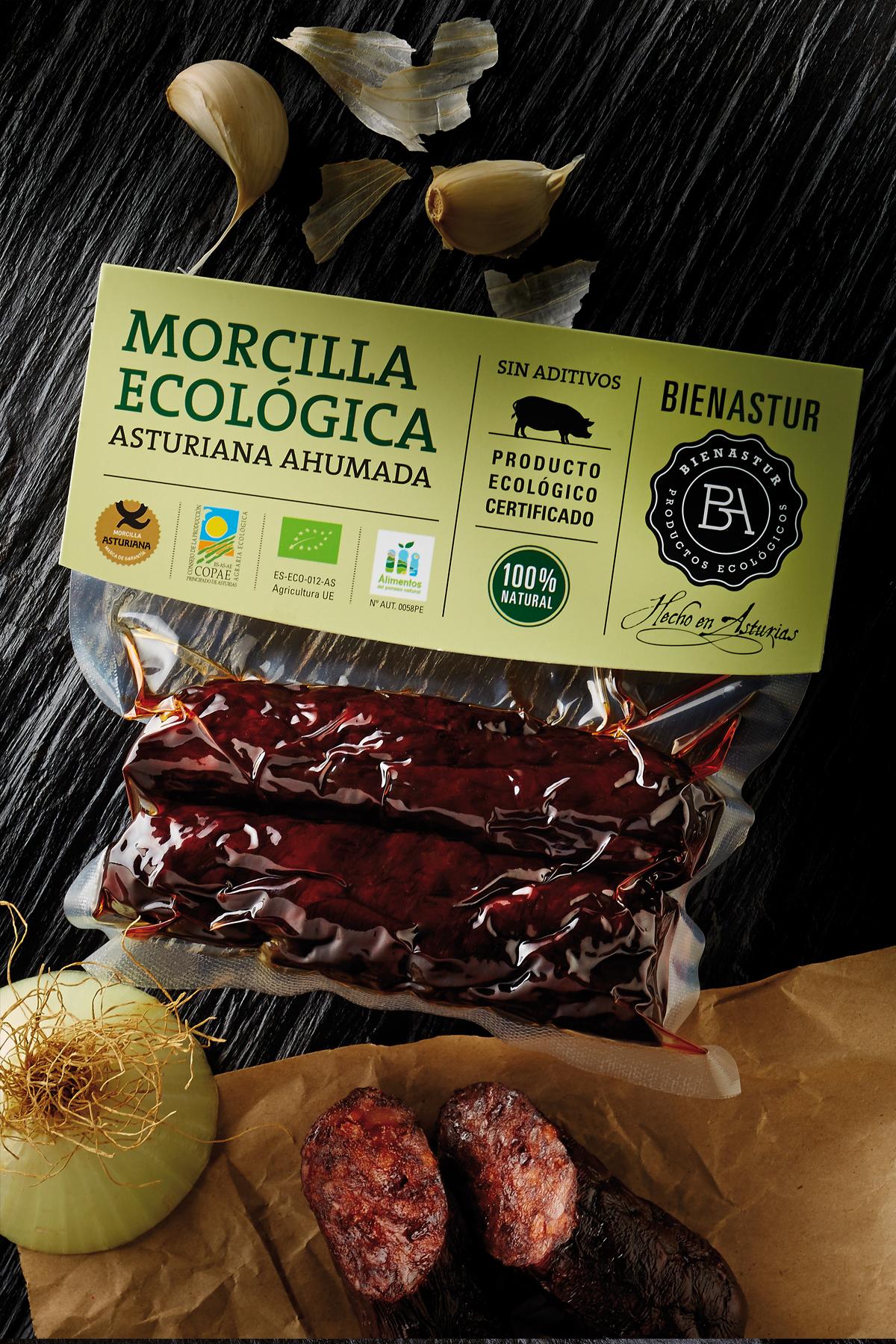 Morcilla Ecológica Bienastur 200g